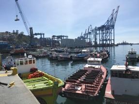 Valparaíso's Port