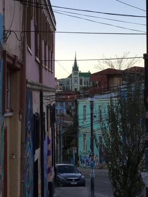 La tarde in Valparaíso