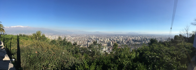 From the Cerro San Cristóbal