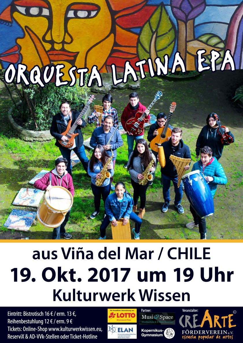Plakat Orchester Latina EPA_A3